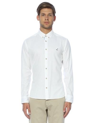 Slim Fit Uzun Kollu Gömlek-Beymen Club